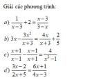 Bài tập 27 trang 26 Tài liệu dạy – học Toán 8 tập 2