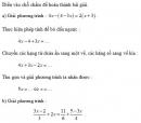 Hoạt động 10 trang 16 Tài liệu dạy – học Toán 8 tập 2