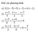 Bài tập 1 trang 33 Tài liệu dạy – học Toán 8 tập 2