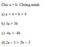 Bài tập 1 trang 56 Tài liệu dạy – học Toán 8 tập 2