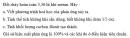 Bài 3 trang 17 Tài liệu Dạy - học Hoá học 9 tập 2