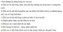 Bài 1 trang 35 Tài liệu Dạy - học Hoá học 9 tập 2