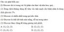 Bài 1 trang 71 Tài liệu Dạy - học Hoá học 9 tập 2