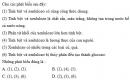 Bài 1 trang 81 Tài liệu Dạy - học Hoá học 9 tập 2