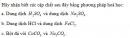 Bài 1 trang 93 (Phần vô cơ) Tài liệu Dạy - học Hoá học 9 tập 2