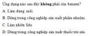 Bài 4 trang 31 Tài liệu Dạy - học Hoá học 9 tập 2