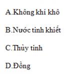 Câu C3 trang 9 SGK Vật lý 11