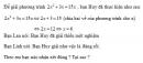 Bạn nào đúng 1 trang 43 Tài liệu dạy – học Toán 9 tập 2