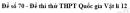 Đề số 70 - Đề thi thử THPT Quốc gia Vật lí