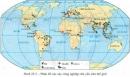 Dựa vào hình 28.5, em hãy cho biết các vùng phân bố của các cây công nghiệp chủ yếu. Giải thích.