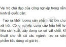 Bài 1 trang 120 SGK Địa lí 10