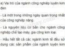 Bài 2 trang 125 SGK Địa lí 10