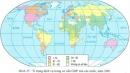 Đặc điểm phân bố các ngành dịch vụ trên thế giới