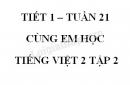 Giải Cùng em học Tiếng Việt lớp 2 tập 2 - trang 11, 12 - Tuần 21 - Tiết 1