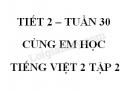 Giải Cùng em học Tiếng Việt lớp 2 tập 2 - trang 43, 44 - Tuần 30 - Tiết 2