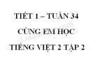Giải Cùng em học Tiếng Việt lớp 2 tập 2 - trang 54, 55 - Tuần 34 - Tiết 1