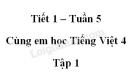 Giải Cùng em học Tiếng Việt lớp 4 tập 1 - trang 19, 20 - Tuần 5 - Tiết 1