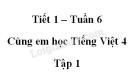 Giải Cùng em học Tiếng Việt lớp 4 tập 1 - trang 22, 23 - Tuần 6 - Tiết 1
