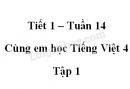 Giải Cùng em học Tiếng Việt lớp 4 tập 1 - trang 50, 51 - Tuần 14 - Tiết 1