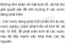 Bài 3 trang 163 SGK Địa lí 10