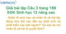 Câu 3 trang 189 SGK Sinh học 12 nâng cao