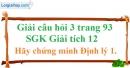 Câu hỏi 3 trang 93 SGK Giải tích 12