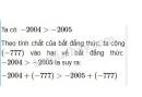 Trả lời câu hỏi 3 Bài 1 trang 36 SGK Toán 8 Tập 2