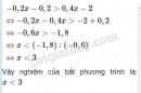 Trả lời câu hỏi 6 Bài 4 trang 46 SGK Toán 8 Tập 2
