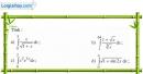 Bài 5 trang 127 SGK Giải tích 12