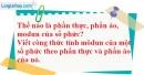 Câu 1 trang 143 SGK Giải tích 12