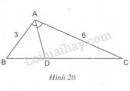 Trả lời câu hỏi 1 Bài 3 trang 65 SGK Toán 8 Tập 2