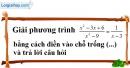 Trả lời câu hỏi 2 Bài 7 trang 55 Toán 9 Tập 2