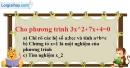 Trả lời câu hỏi 3 Bài 6 trang 51 Toán 9 Tập 2