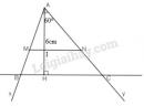 Bài 34 trang 77 - Sách giáo khoa toán 8 tập 2