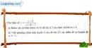 Bài 6 trang 146 SGK Giải tích 12