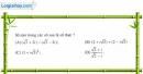 Câu 1 trang 144 SGK Giải tích 12