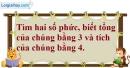 Câu 11 trang 144 SGK Giải tích 12