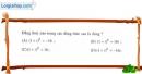 Bài 4 trang 144 SGK Giải tích 12
