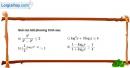 Câu 10 trang 147 SGK Giải tích 12