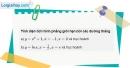 Câu 13 trang 148 SGK Giải tích 12