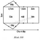 Trả lời câu hỏi Bài 5 trang 110 SGK Toán 8 Tập 2