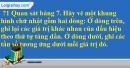 Trả lời câu hỏi 1 Bài 2 trang 9 SGK Toán 7 Tập 2