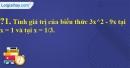 Trả lời câu hỏi 1 Bài 2 trang 28 SGK Toán 7 Tập 2