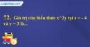 Trả lời câu hỏi 2 Bài 2 trang 28 SGK Toán 7 Tập 2
