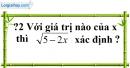 Trả lời câu hỏi 2 Bài  2 trang 8 SGK Toán 9 Tập 1