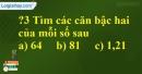 Trả lời câu hỏi 3 Bài 1 trang 5 SGK Toán 9 Tập 1