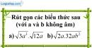 Trả lời câu hỏi 4 Bài 3 trang 13 SGK Toán 9 Tập 1