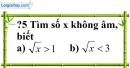 Trả lời câu hỏi 5 Bài 1 trang 6 SGK Toán 9 Tập 1