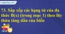 Trả lời câu hỏi 3 Bài 7 trang 42 SGK Toán 7 Tập 2