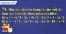 Trả lời câu hỏi 4 Bài 7 trang 42 SGK Toán 7 Tập 2